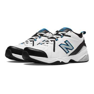 New Balance New Balance 608v4, White with Royal Blue