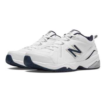 New Balance New Balance 608v4, White with Navy