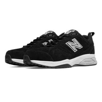New Balance New Balance 623v3 Suede Trainer, Black