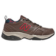 New Balance 623v2, Brown with Red
