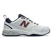 623v3 Trainer, White with Navy & Red