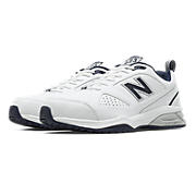 623v3 Trainer, White with Navy