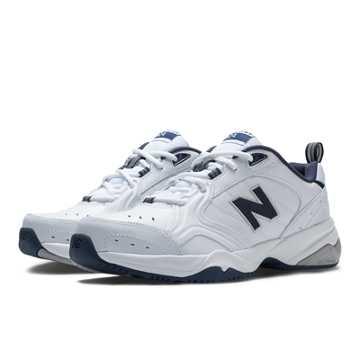 New Balance New Balance 624, White with Navy