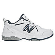 New Balance 624, White with Navy