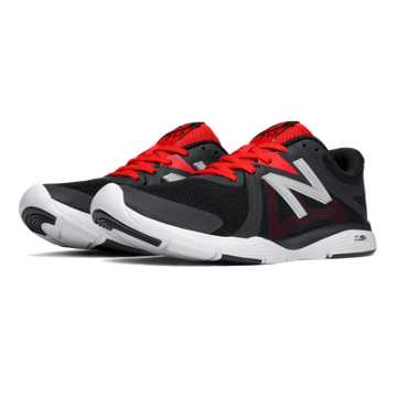 New Balance New Balance 713 Trainer, Red with Black