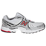 New Balance 760, White with Black & Red