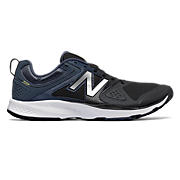 New Balance 777v2 Trainer, Black with Grey