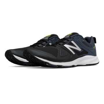New Balance New Balance 777v2 Trainer, Black with Grey