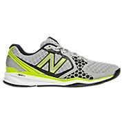 New Balance 797, Grey with Lime Green