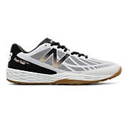 Fresh Foam 80v3 Trainer, Black with White & Gold
