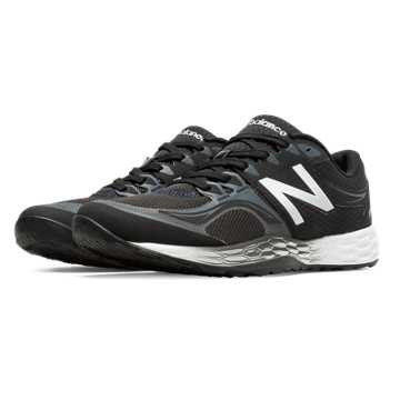 New Balance Fresh Foam 80v2, Black with Silver