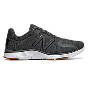 New Balance 818v2 Trainer, Black with Metallic Silver