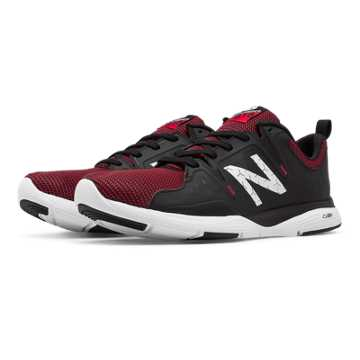 New Balance New Balance 818 Trainer, Black with Red & White