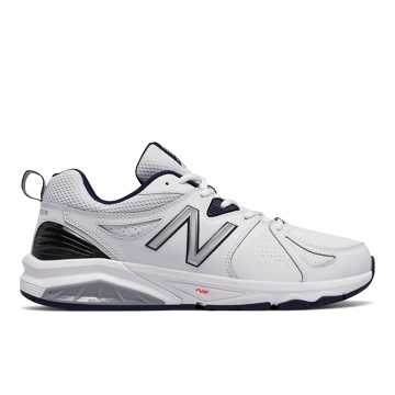 New Balance New Balance 857v2, White with Navy