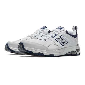 New Balance New Balance 857, White with Navy