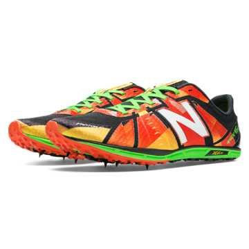 New Balance XC5000 Spike, Red with Green & Black