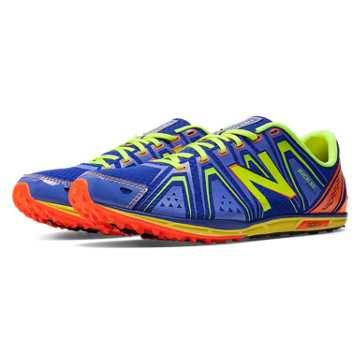 New Balance XC700v3 Spikeless, Blue with Yellow