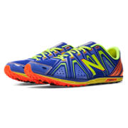 XC700v3 Spikeless, Blue with Yellow