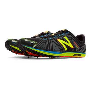 New Balance XC700v3 Spike, Black with Yellow