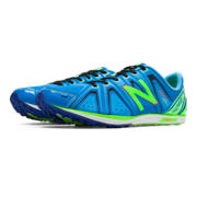 XC700v3 Spikeless, Bright Blue with Lime Green