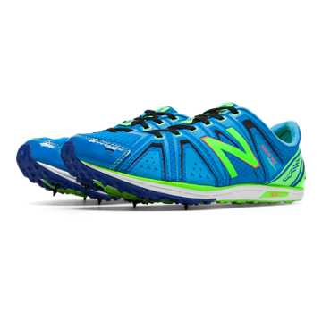 New Balance XC700v3 Spike, Lime Green with Bright Blue