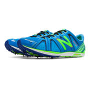 XC700v3 Spike, Lime Green with Bright Blue