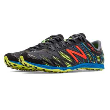New Balance XC900v2 Spikeless, Black with Yellow