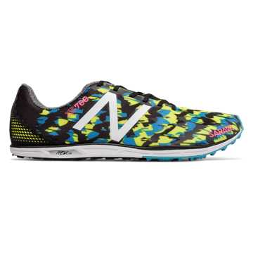 New Balance XC700v4 Spikeless, Black with Hi-Lite