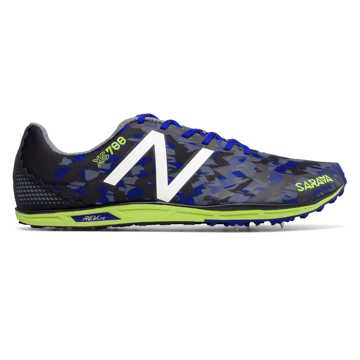 New Balance XC700v4 Spike, Blue with Hi-Lite
