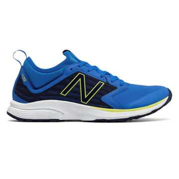 New Balance Vazee Quick v2 Trainer, Electric Blue with Dark Denim