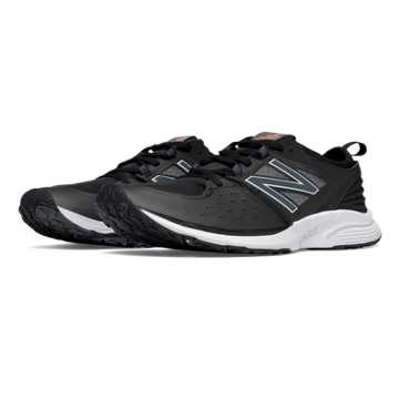 New Balance Vazee Quick Trainer, Black with White
