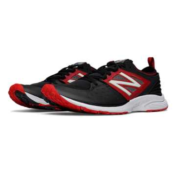 New Balance Vazee Quick Trainer, Black with Red