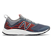 New Balance QIKv2, Thunder with Orange & Gunmetal