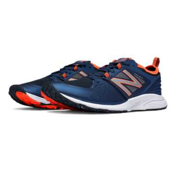 New Balance Vazee Quick Trainer, Navy with Orange