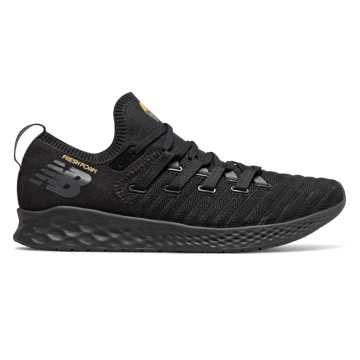 Men's Fresh Foam Zante Trainer, Black with Magnet & Gold