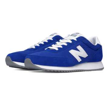 New Balance 501 90s Traditional Ripple Sole, Royal Blue with White