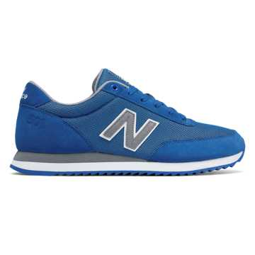 New Balance 501 Ripple Sole, Blue with Grey