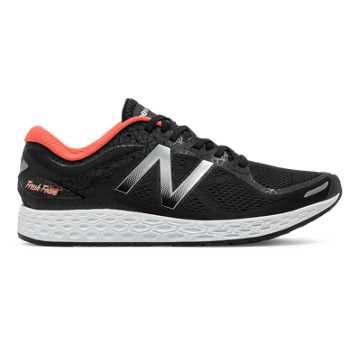 New Balance Zante v2 Brooklyn, Black with Metallic Silver & Alpha Orange