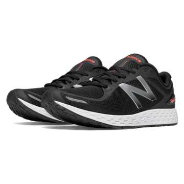 New Balance Fresh Foam Zante v2, Black with Silver