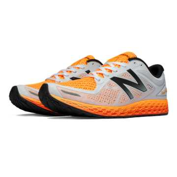 New Balance Fresh Foam Zante v2 Breathe, White with Impulse & Black