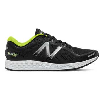 New Balance Zante v2 Manhattan, Black with Metallic Silver & Hi-Lite