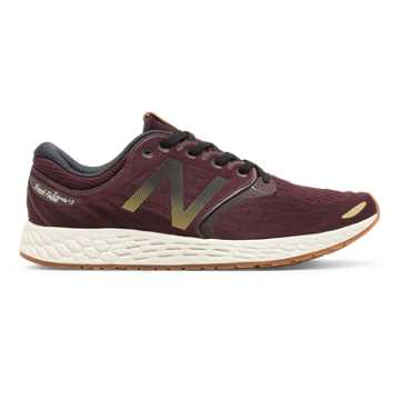 New Balance Fresh Foam Zante v3 Club Pack, Burgundy with Black