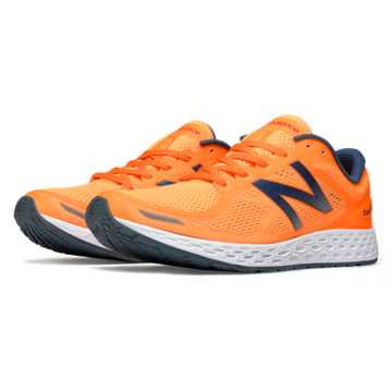 New Balance Fresh Foam Zante v2, Orange Pop with Grey