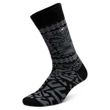 New Balance Tiki Crew 1 pair, Black with Grey