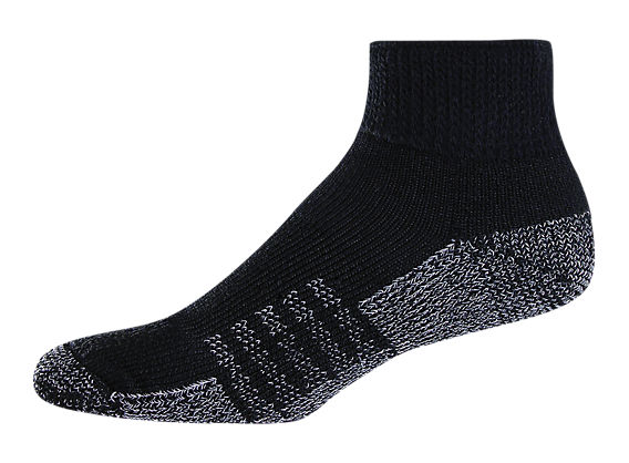 High Density Quarter (1 pair), Black