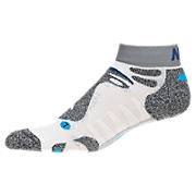 Technical NBx Low Cut (1 pair), White with Grey & Blue