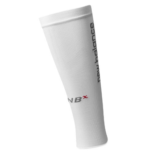 New Balance  Men's & Women's Baseball Sport Sleeve 1 pair - White, Red, Grey (N900-WHT)