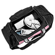 Momentum Medium Duffel, Pink with Black