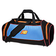 Momentum Medium Duffel, Light Blue with Black