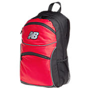 Momentum Backpack, Black with Red